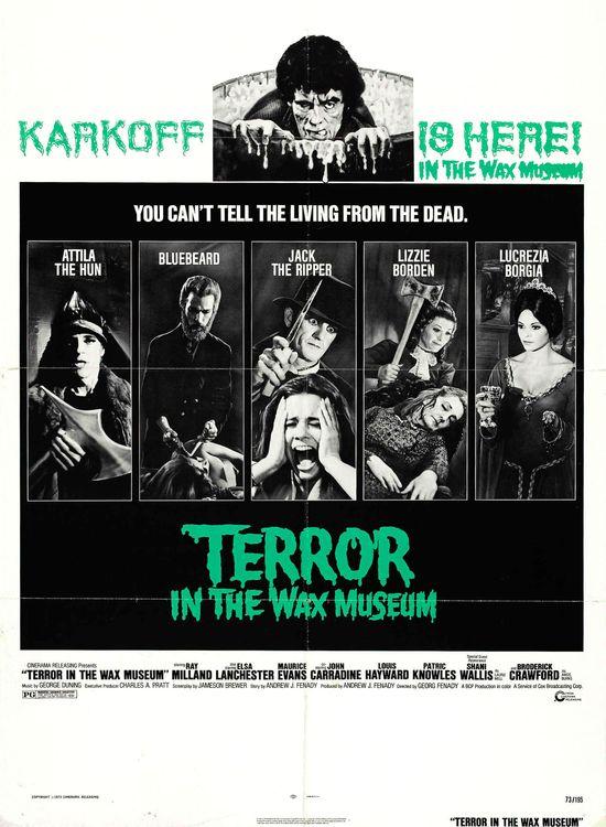 Terror in the Wax Museum movie
