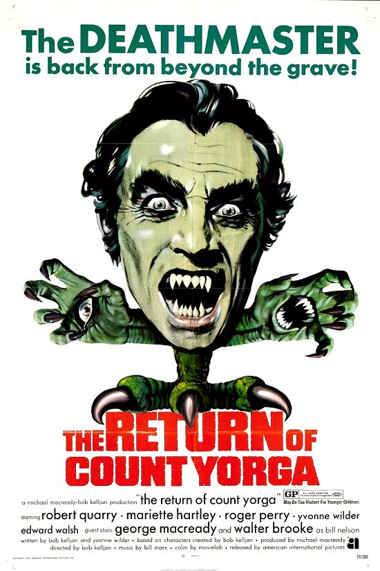 The Return of Count Yorga movie