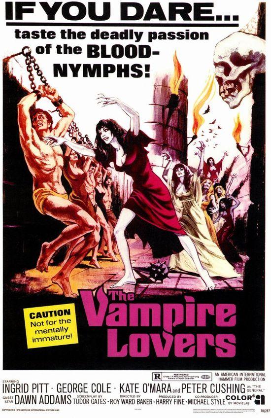 The Vampire Lovers movie
