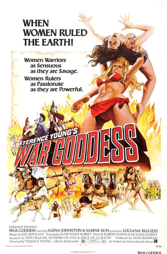War Goddess movie