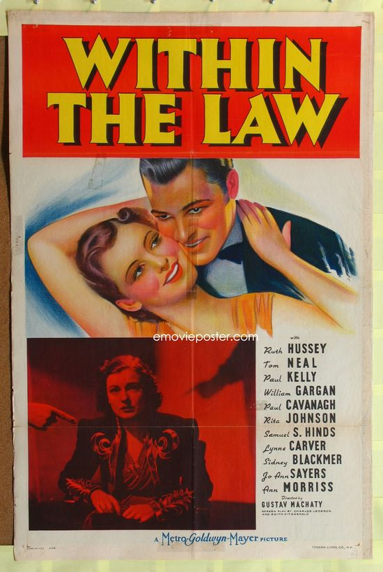 Within the Law (1939) movie
