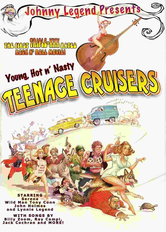 Young, Hot 'n Nasty Teenage Cruisers movie