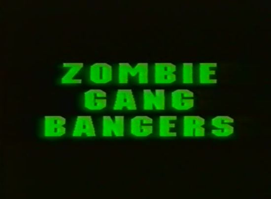 Zombie Ninja Gangbangers movie