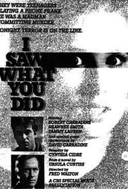 I Saw What You Did movie