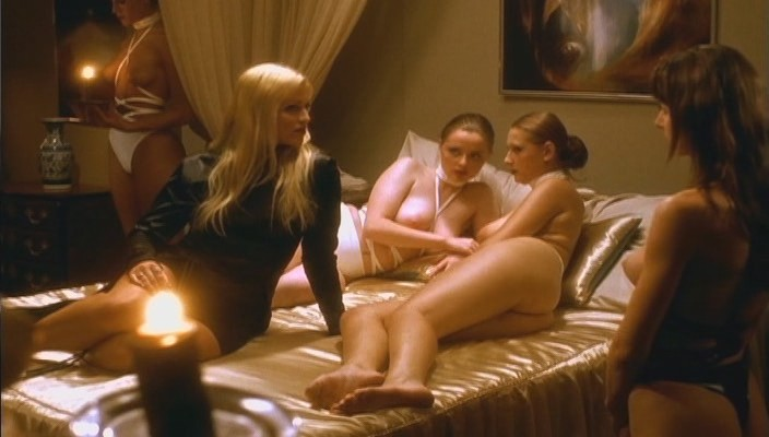 Two enslaved girls undressing and pleasuring madame 8