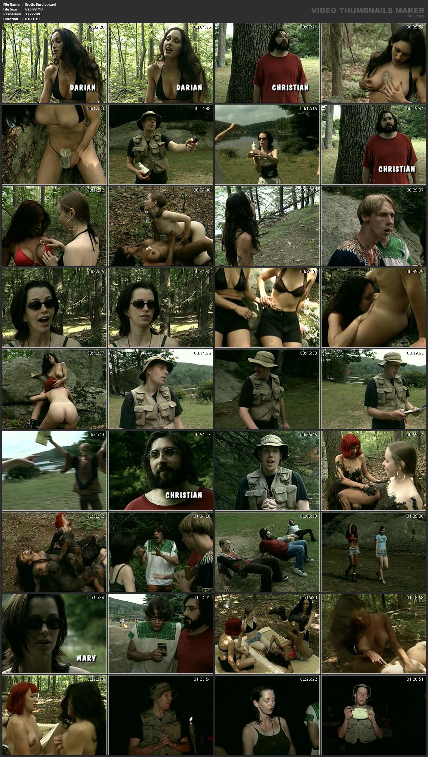 Erotic survivor video