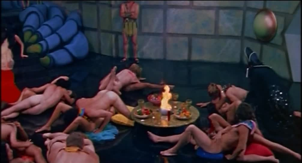Like thatt flesh gordon orgy scene she can sit