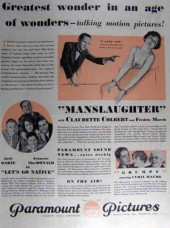 Manslaughter 1930