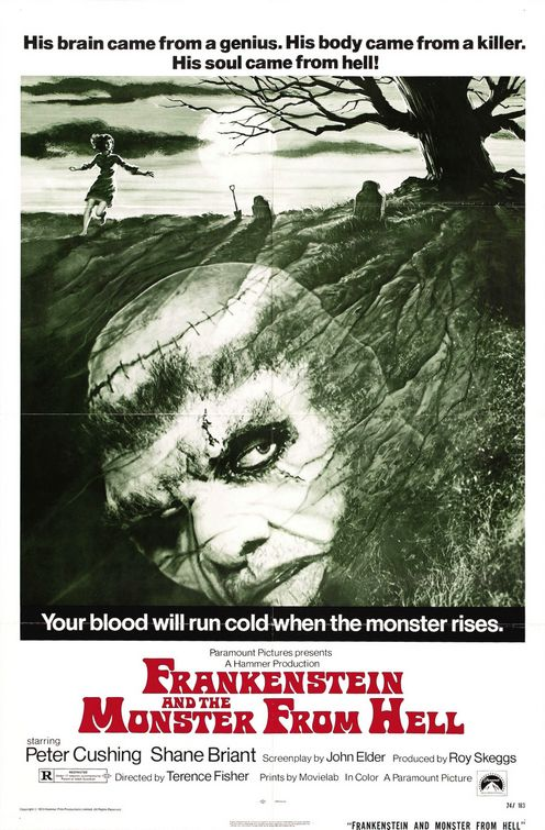Frankenstein and the Monster from Hell movie