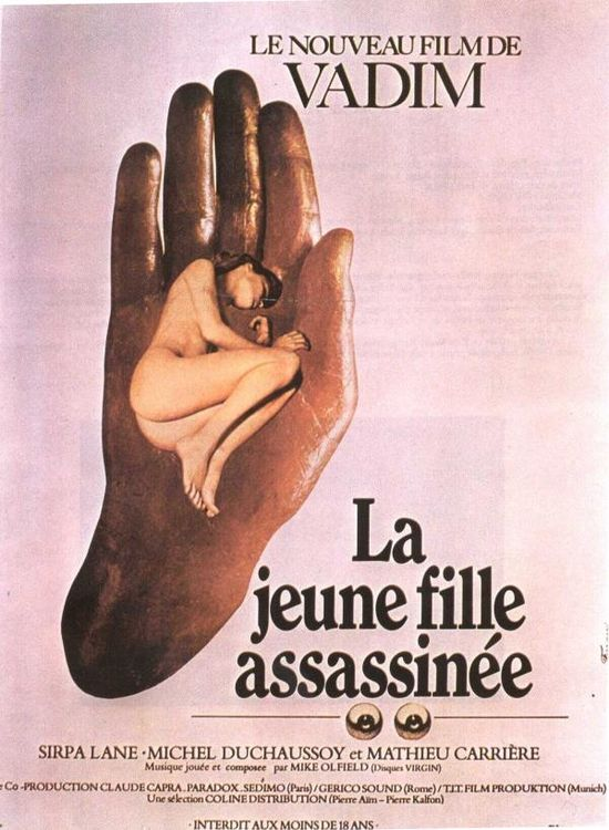 La jeune fille assassinée 1974 Assassinated Young Girl