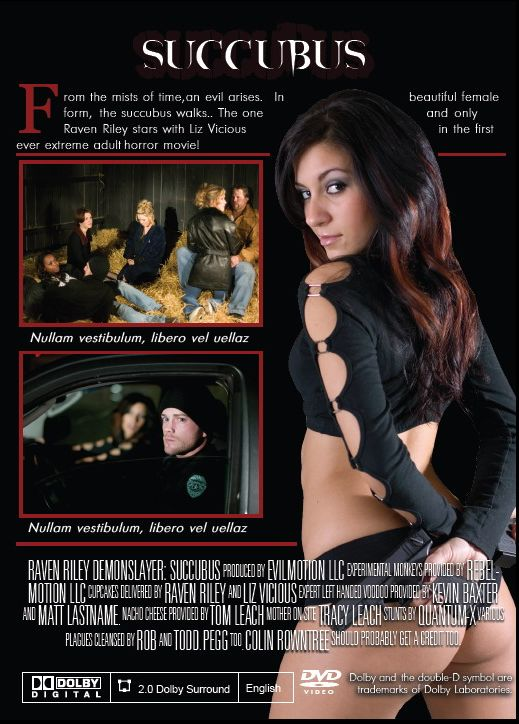 Succubus XXX movie