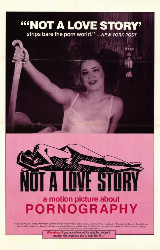 Not a Love Story: A Film About Pornography 1981