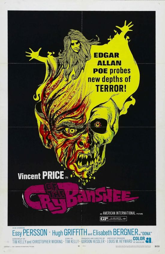 Cry of the Banshee movie