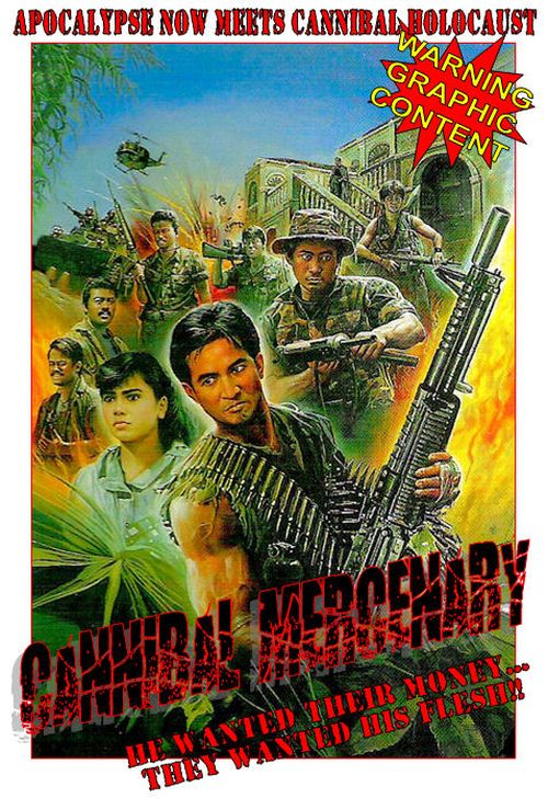 Cannibal Mercenary movie