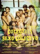 Colegiais em Sexo Coletivo