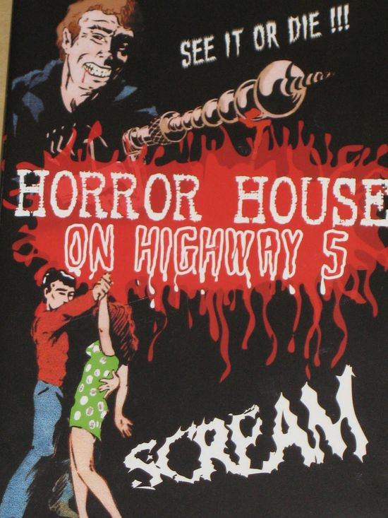 Horror House on Highway Five movie
