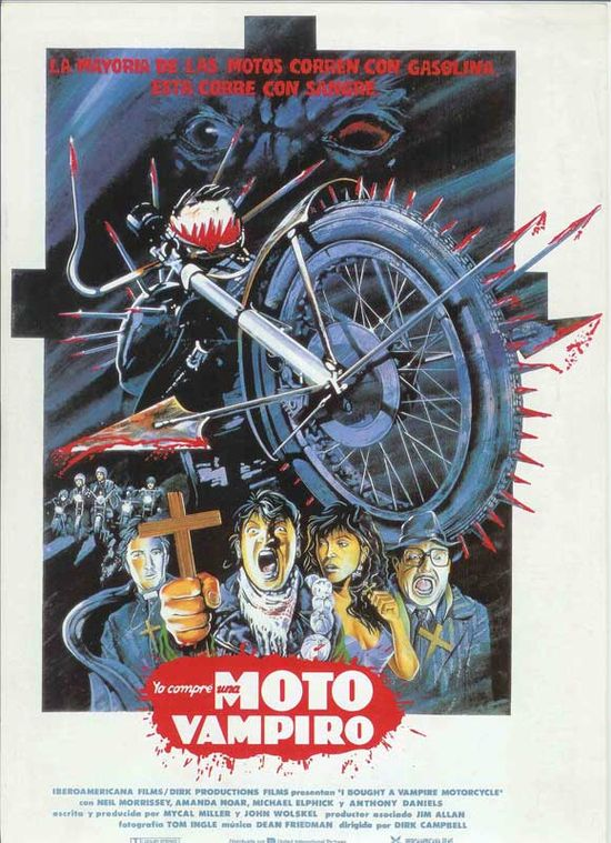 I Bought a Vampire Motorcycle movie