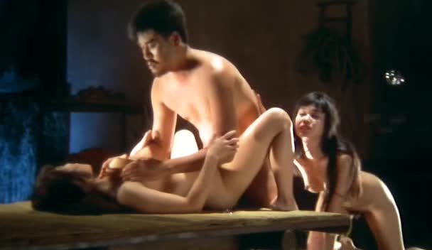 Asian busty caught and bound