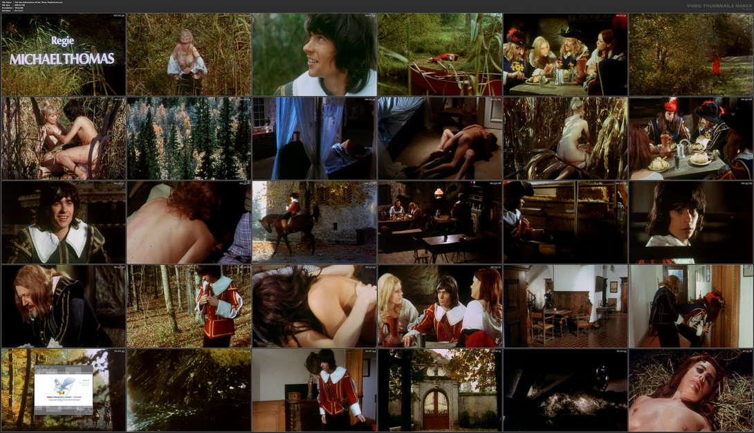 Three musketeers erotic streaming movie