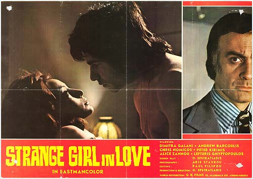 Strange Girl in Love movie