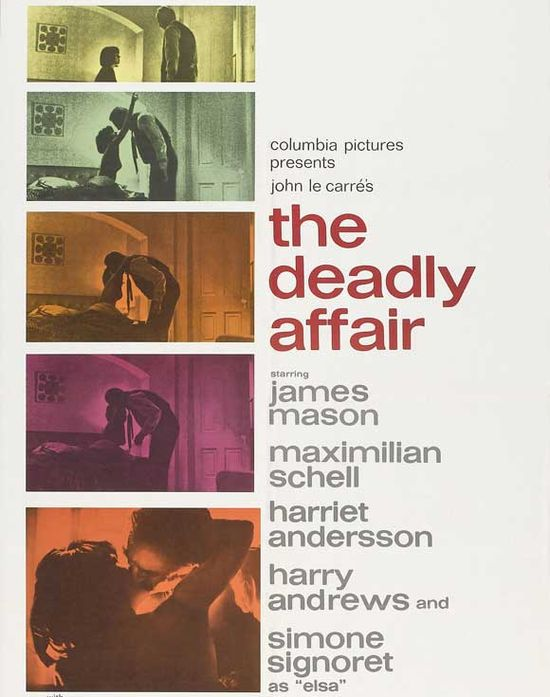 The Deadly Affair movie