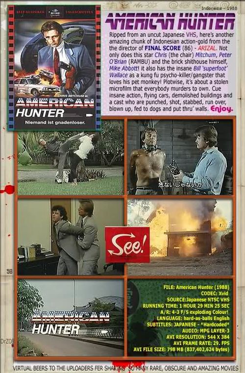 American Hunter movie