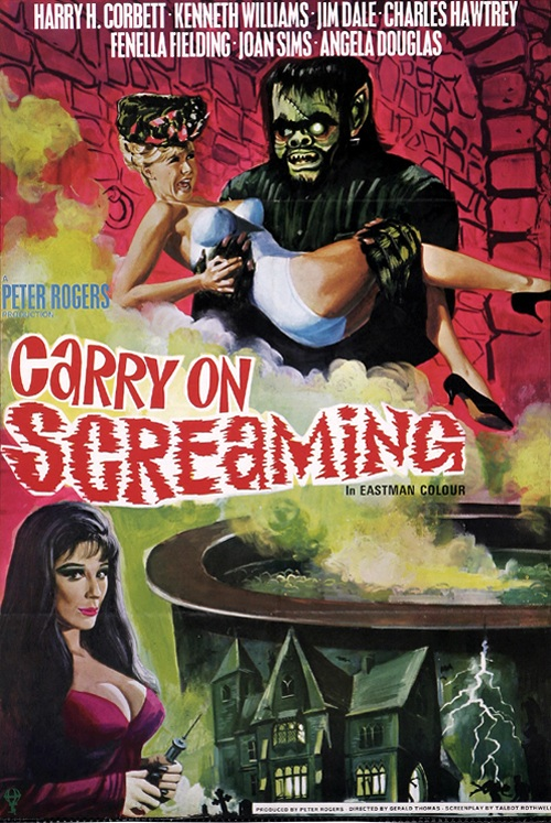 Carry on Screaming! movie
