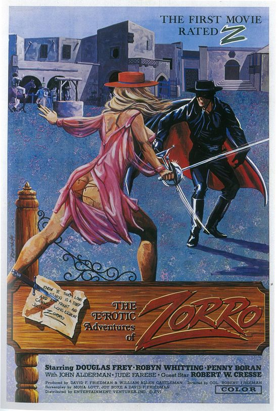The erotic adventures of zorro clip