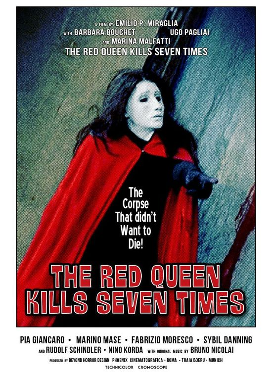 The Lady in Red Kills Seven Times movie