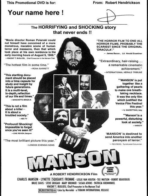 Manson movie