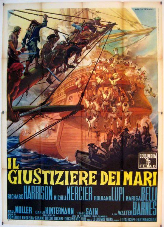 Avenger of the Seven Seas movie