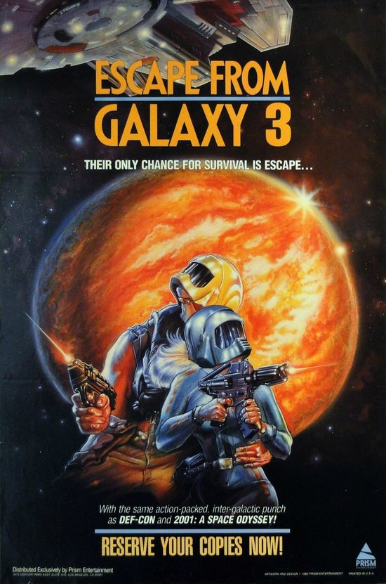 Escape from Galaxy 3 movie