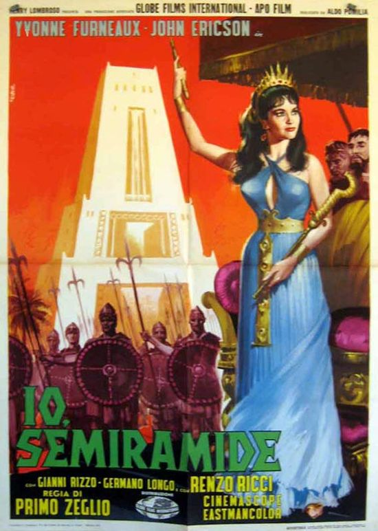 Slave Queen of Babylon movie