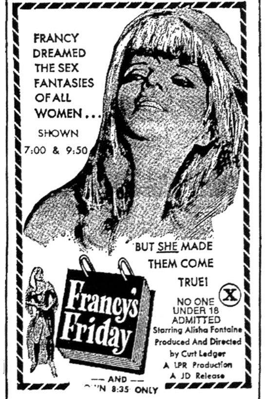 It's... Francy's Friday movie