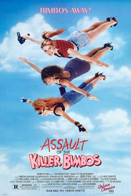 Assault of the Killer Bimbos movie