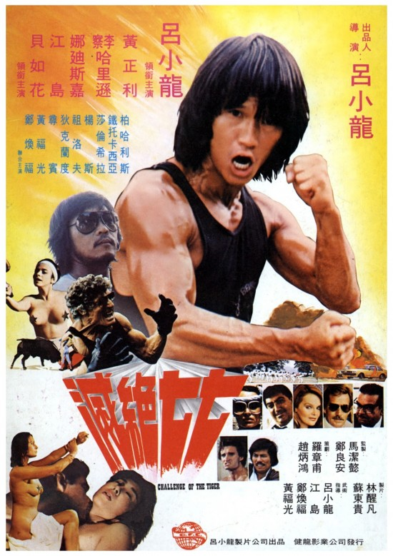 Challenge of the Tiger movie