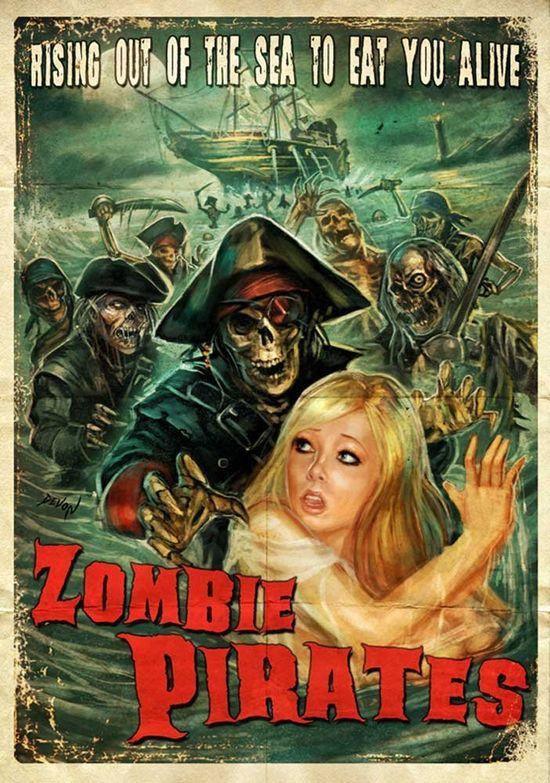 Zombie Pirates movie