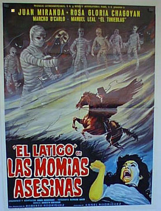 El latigo contra las momias asesinas movie