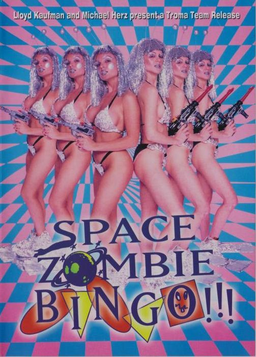 Space Zombie Bingo!!! movie