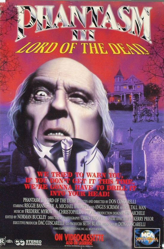 Phantasm III: Lord of the Dead movie
