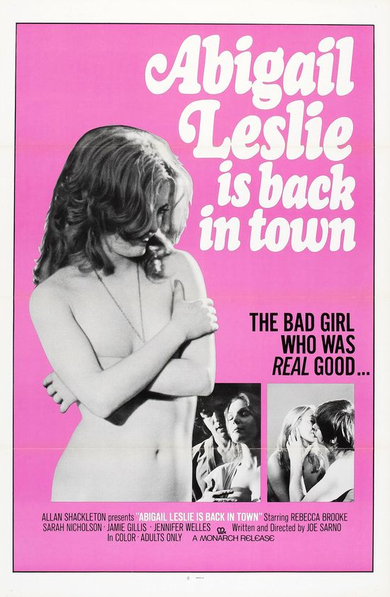 Abigail Lesley Is Back in Town movie
