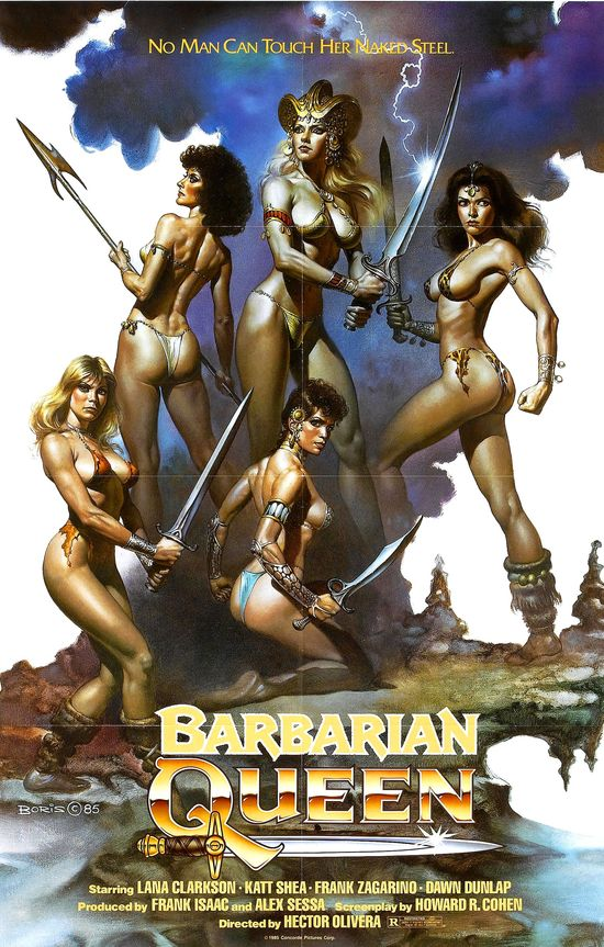 Barbarian Queen movie
