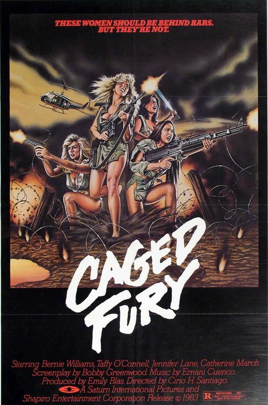 Caged Fury (1983) movie