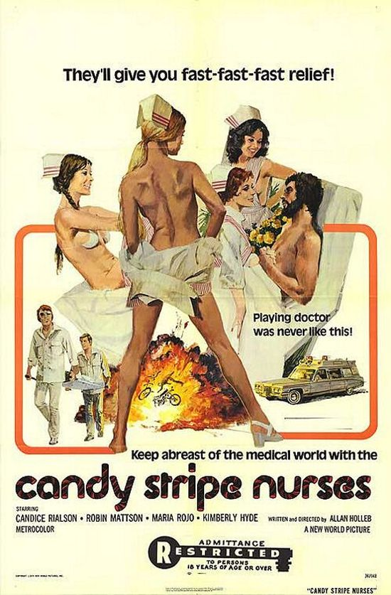Candy Stripe Nurses 1974