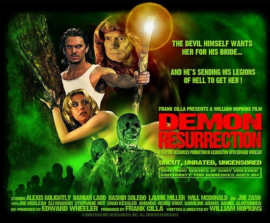 Demon resurrection  movie