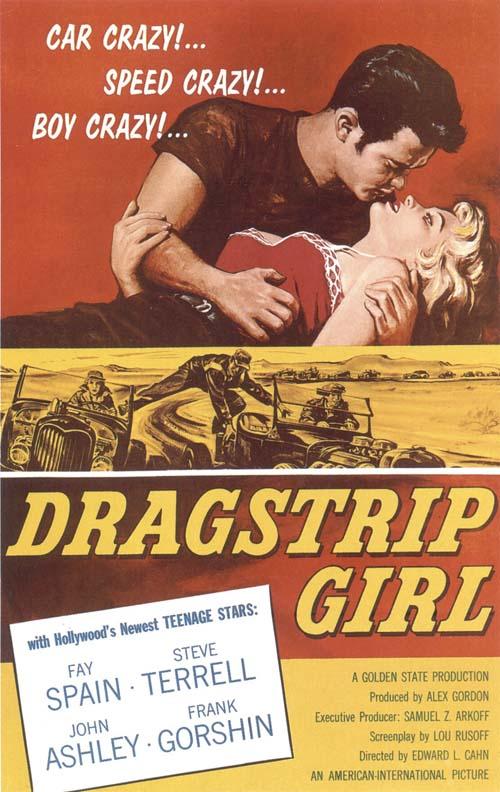 Dragstrip Girl movie