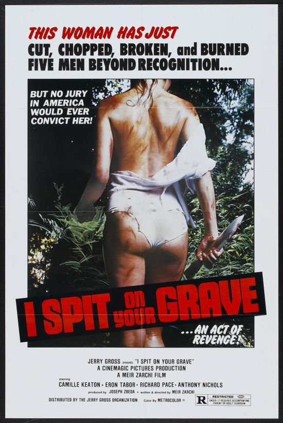 I Spit on Your Grave (1978) movie