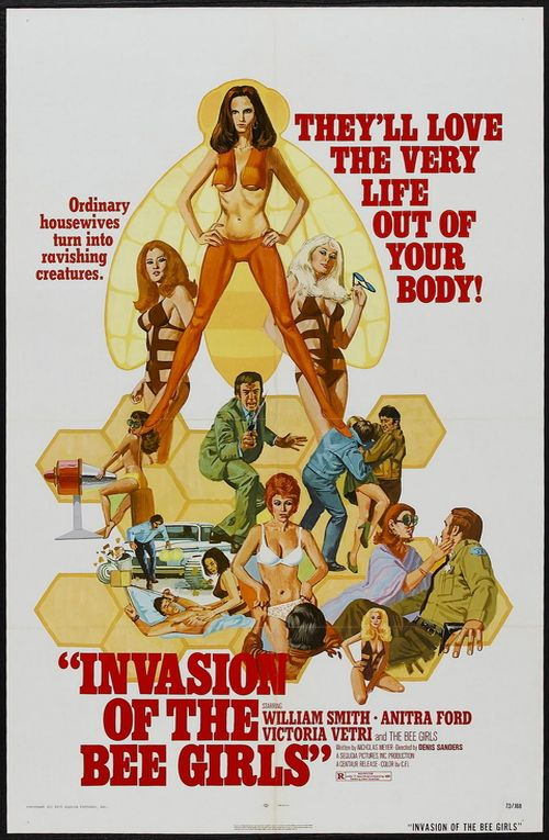 Invasion of the Bee Girls  movie