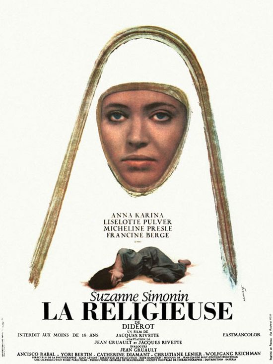 La religieuse movie