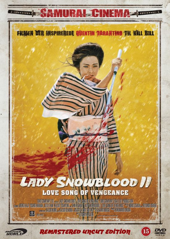 Lady Snowblood 2: Love Song of Vengeance movie